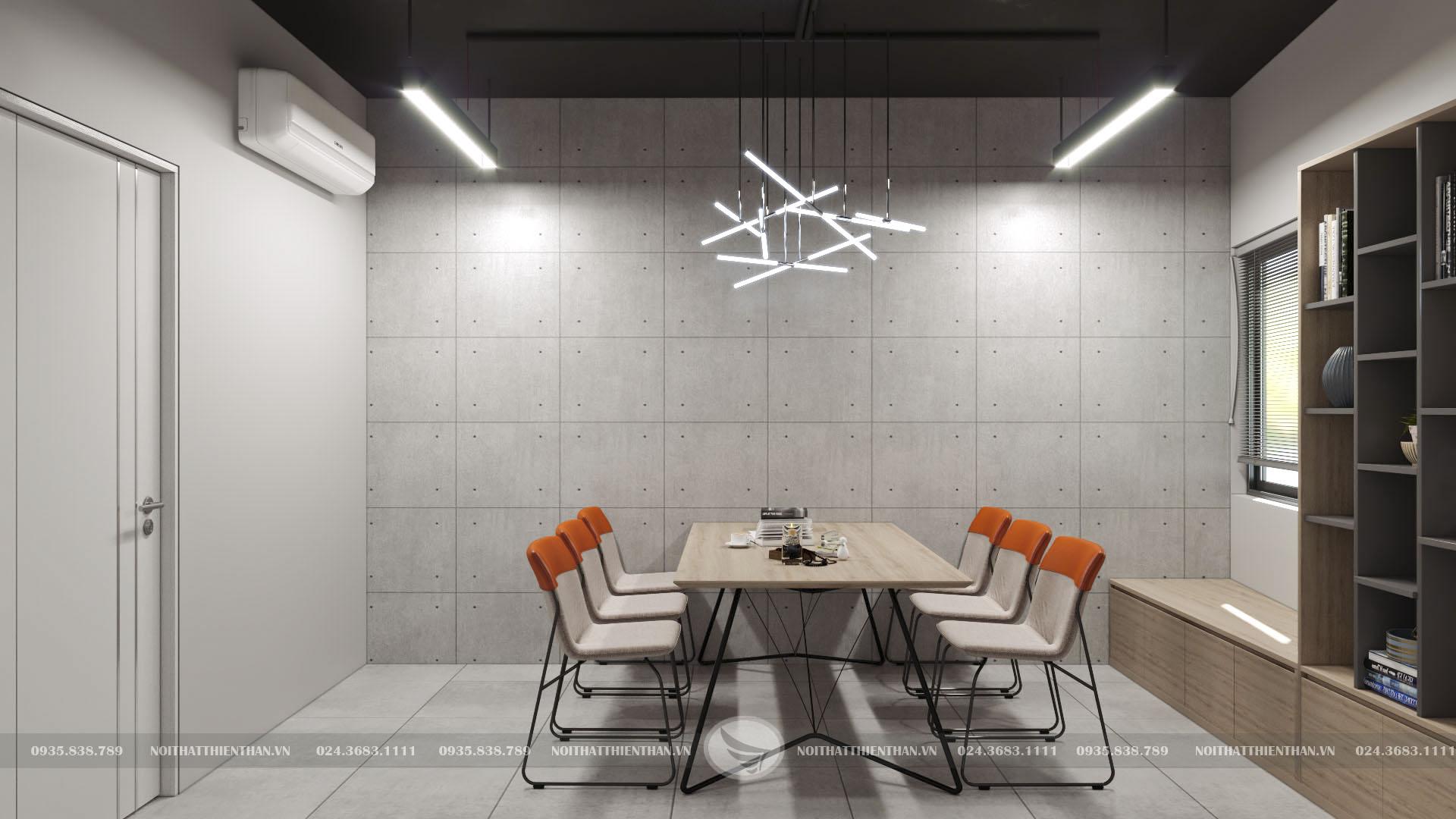 mẫu phòng họp đẹp đơn giản