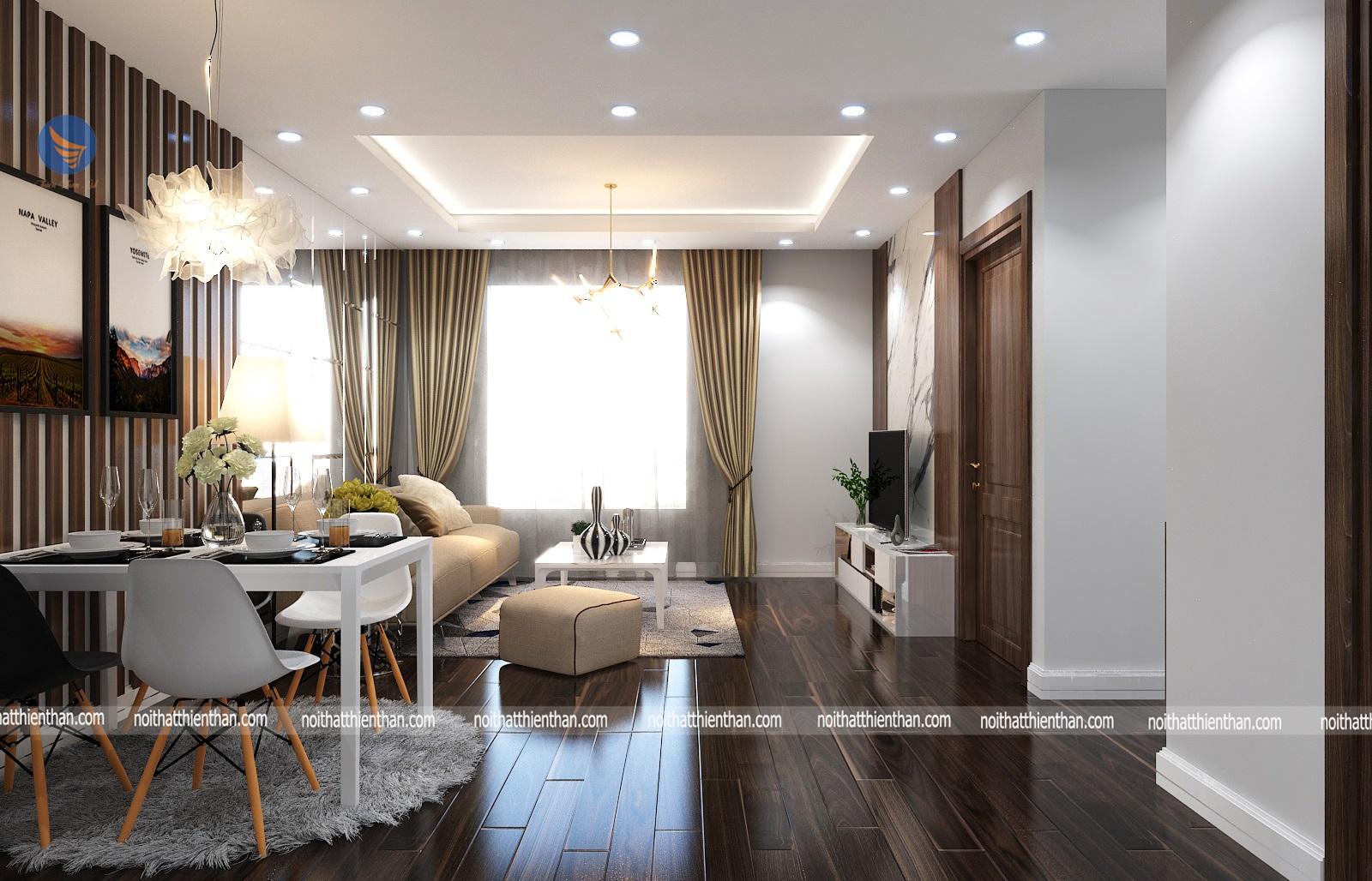 """Kinh nghiệm thiết kế nội thất chung cư đầy đủ cho người """"lần đầu"""""""