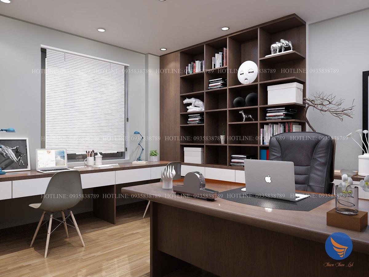 thiết kế phòng làm việccá nhân đẹp