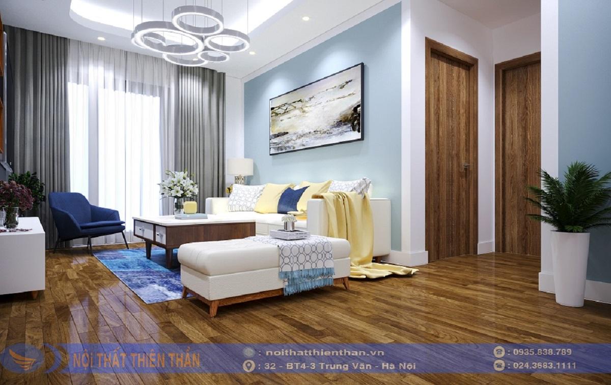 phòng sinh hoạt chung đẹp cho chung cư