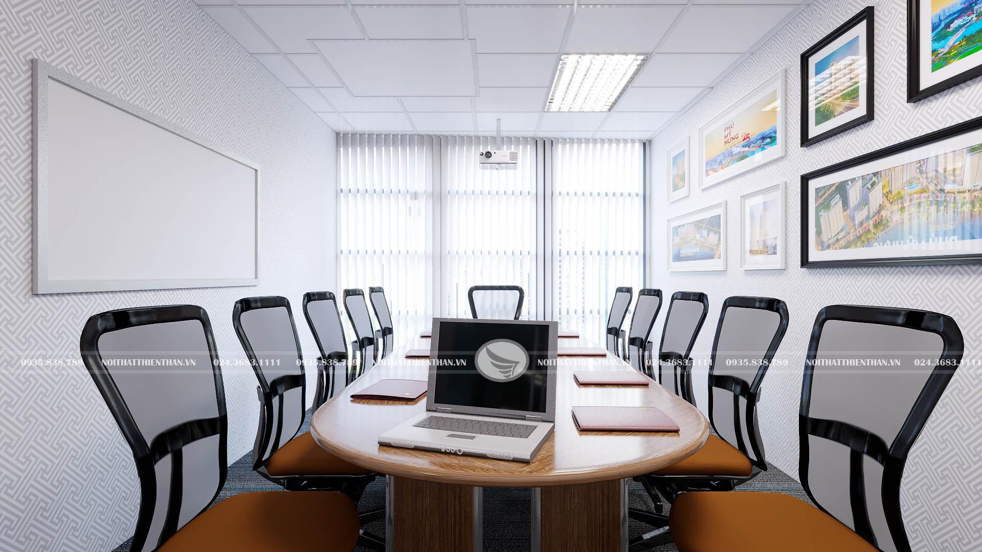 nội thất phòng họp lấy cảm hứng sáng tạo