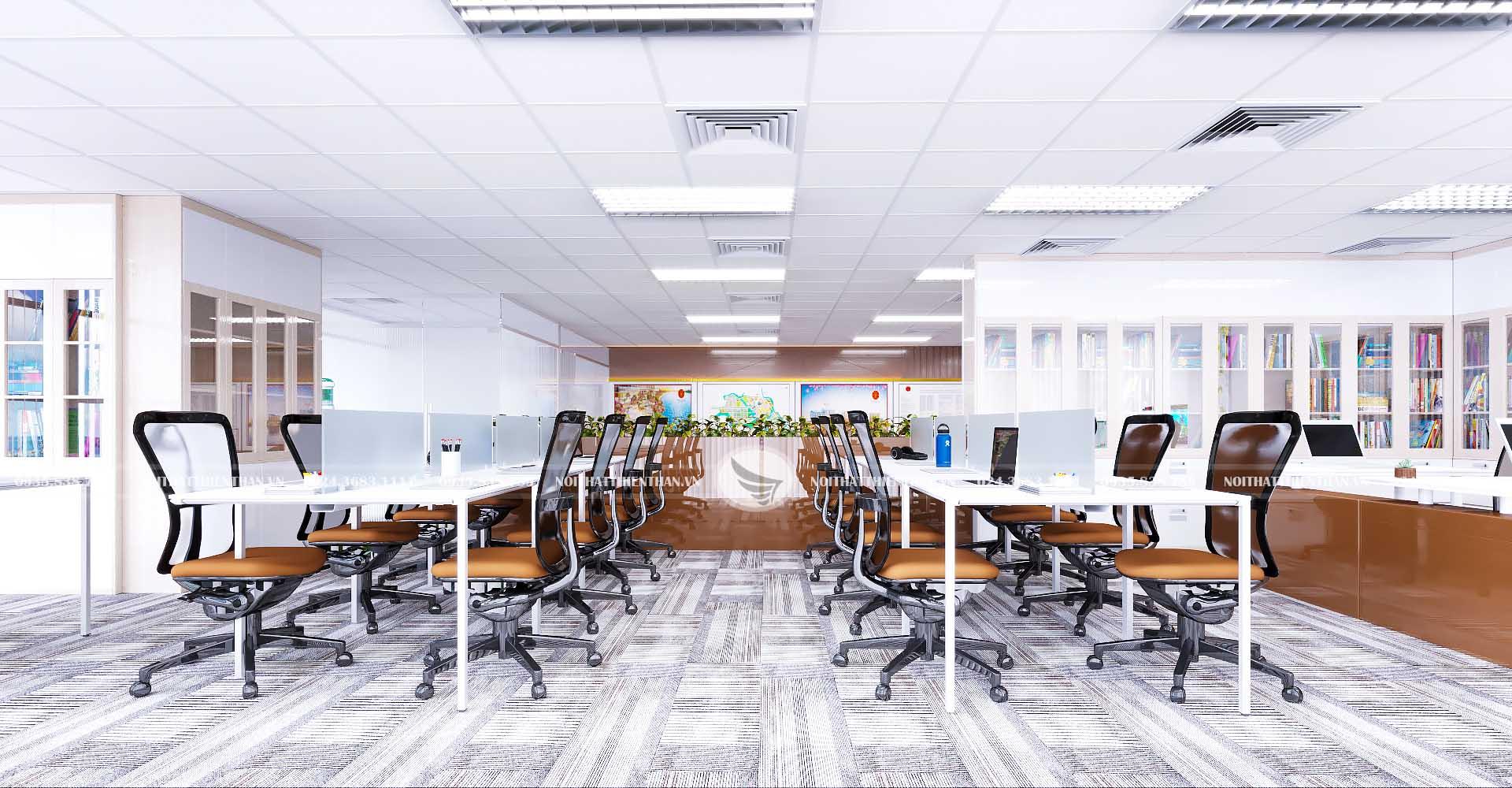 thiết kế phòng họp của tập đoàn lớn