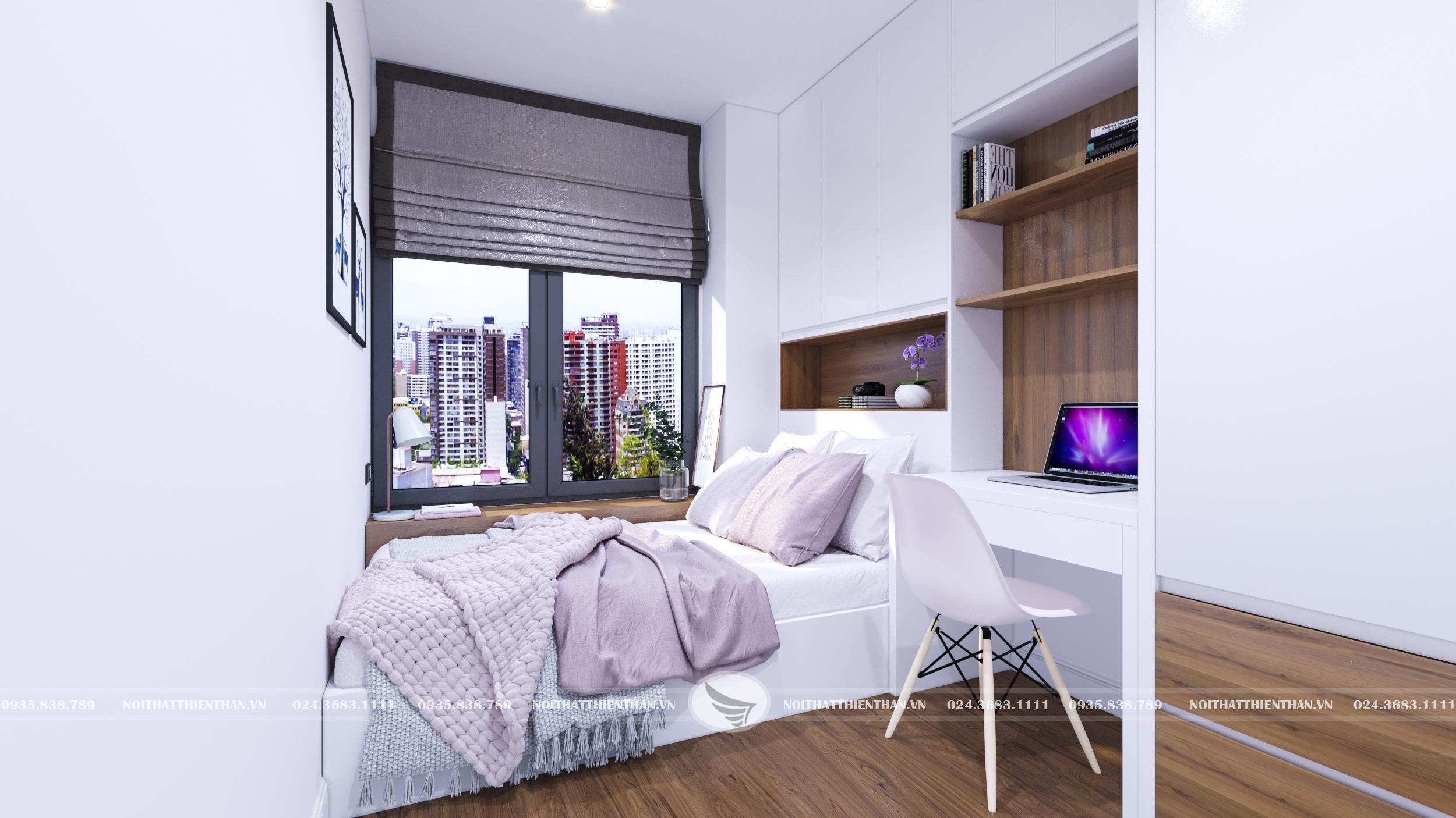 nội thất phòng ngủ hiện đại đơn giản