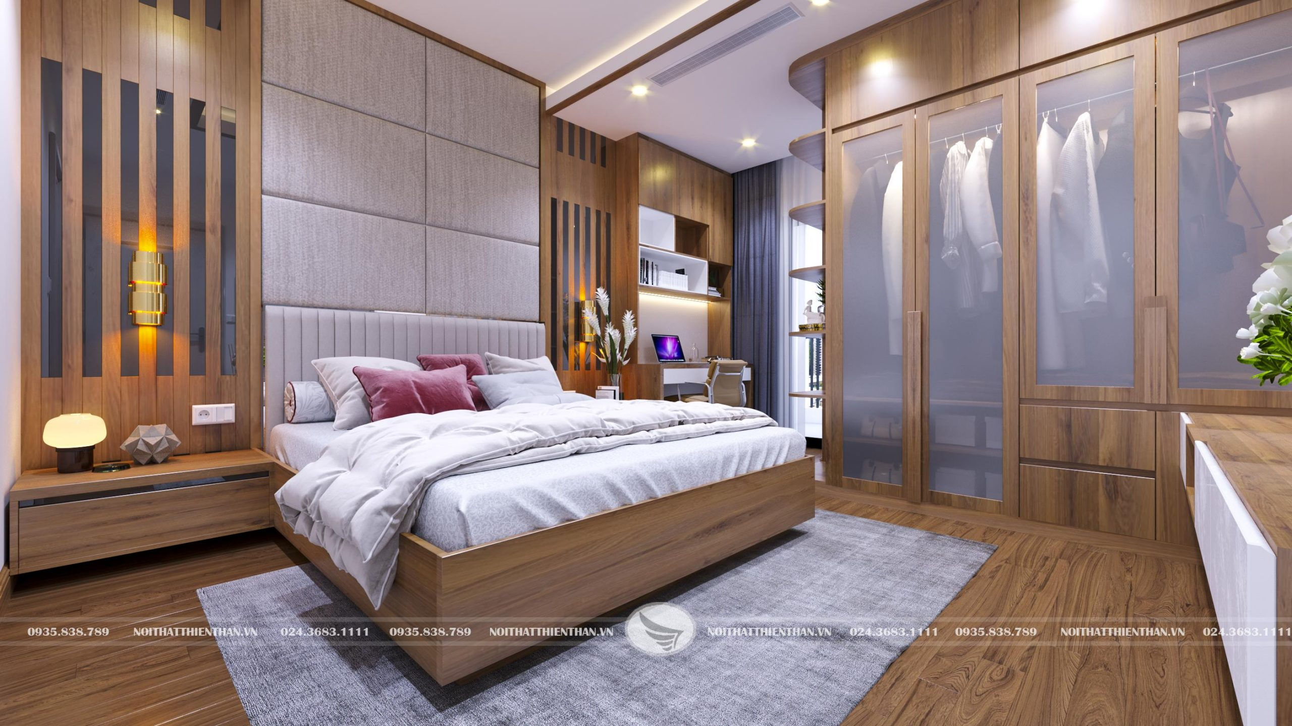 phòng ngủ đơn giản đẹp