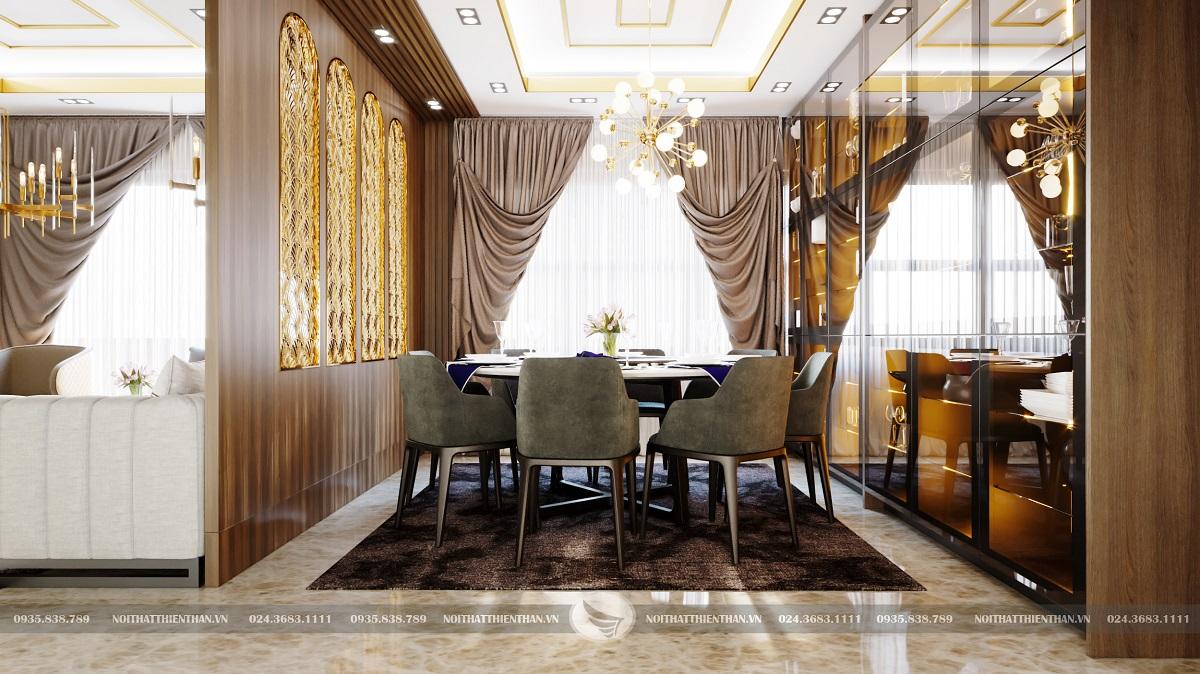 thiết kế phòng ăn đẹp