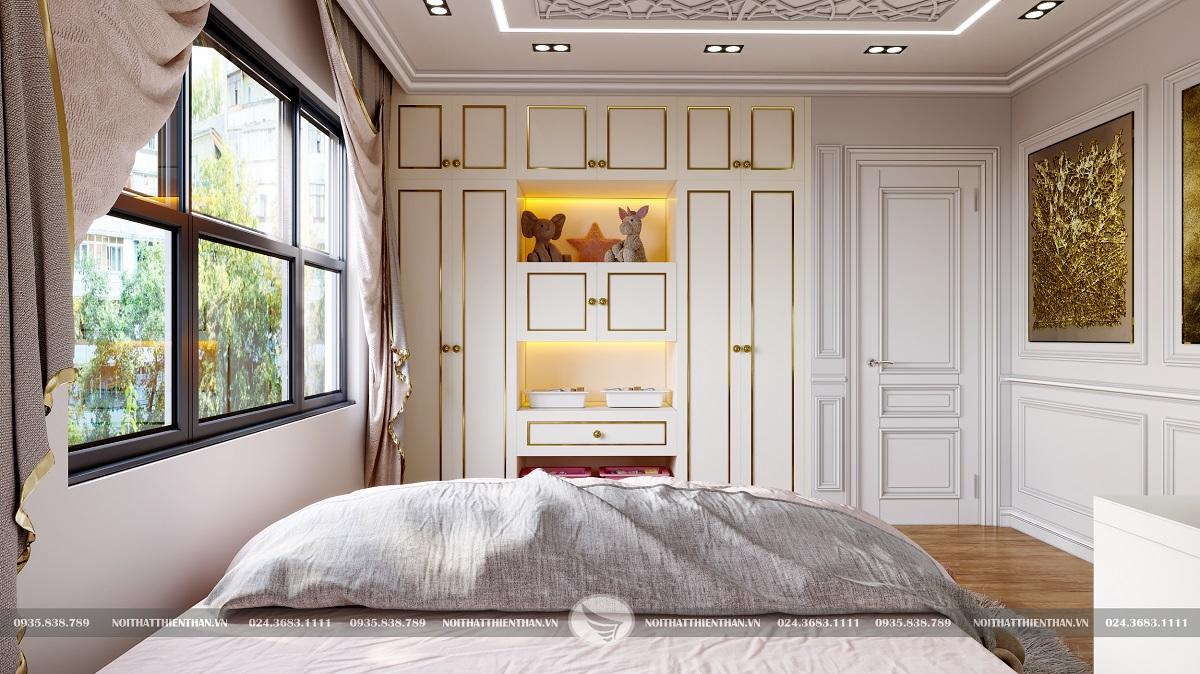 phòng ngủ nhỏ đẹp cho con gái