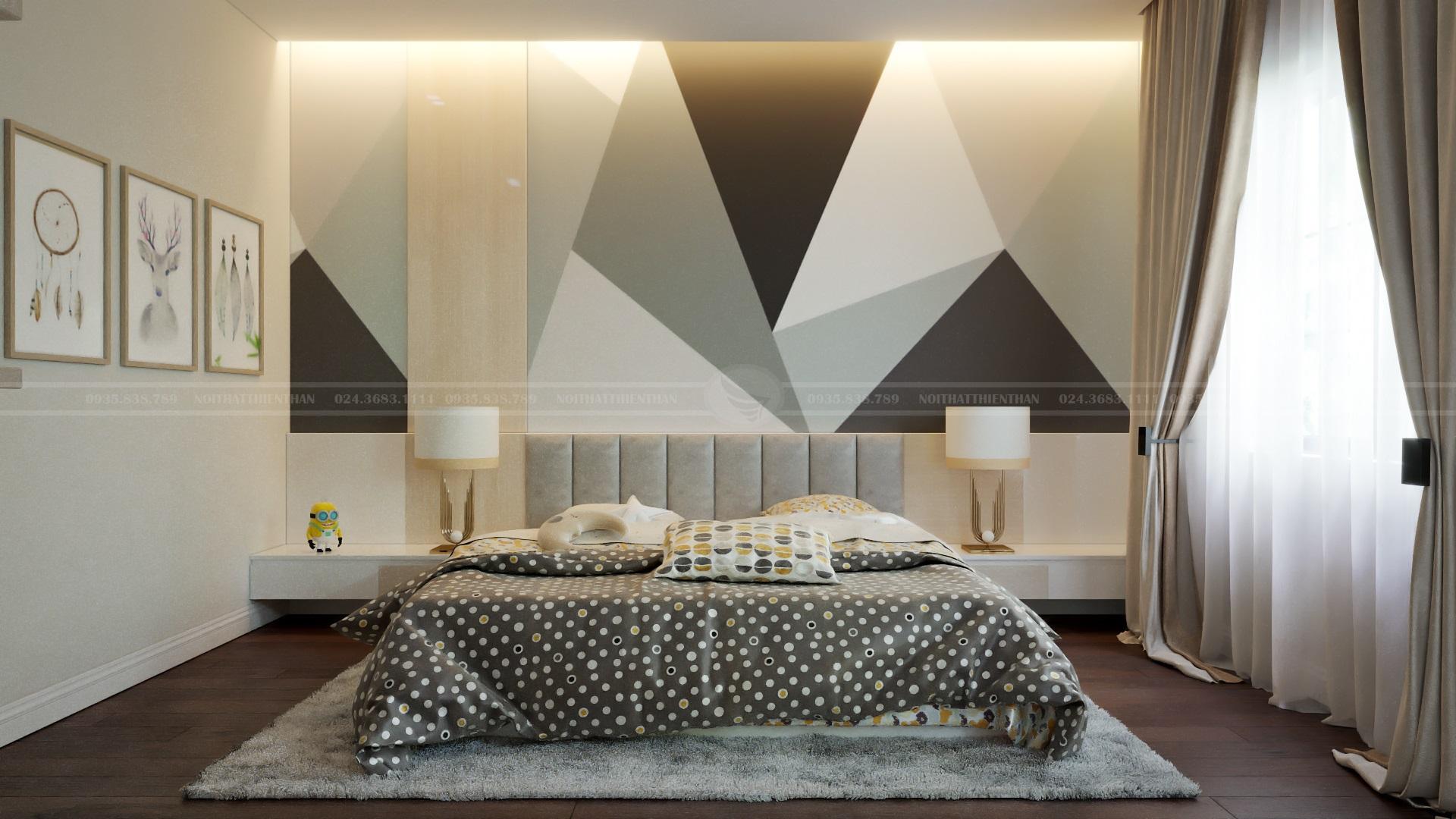 phòng ngủ không gian mở