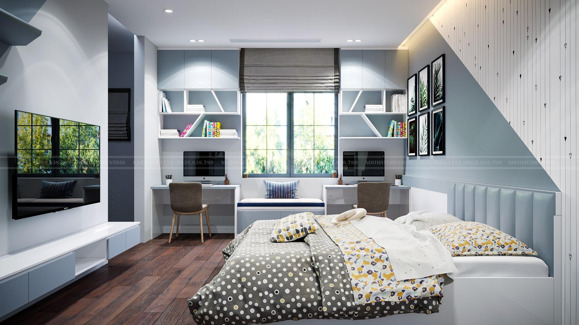 trang trí phòng ngủ nhỏ dễ thương