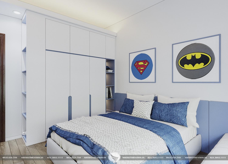 thiết kế phòng cho bé trai