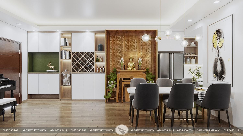 trang trí phòng ăn đẹp