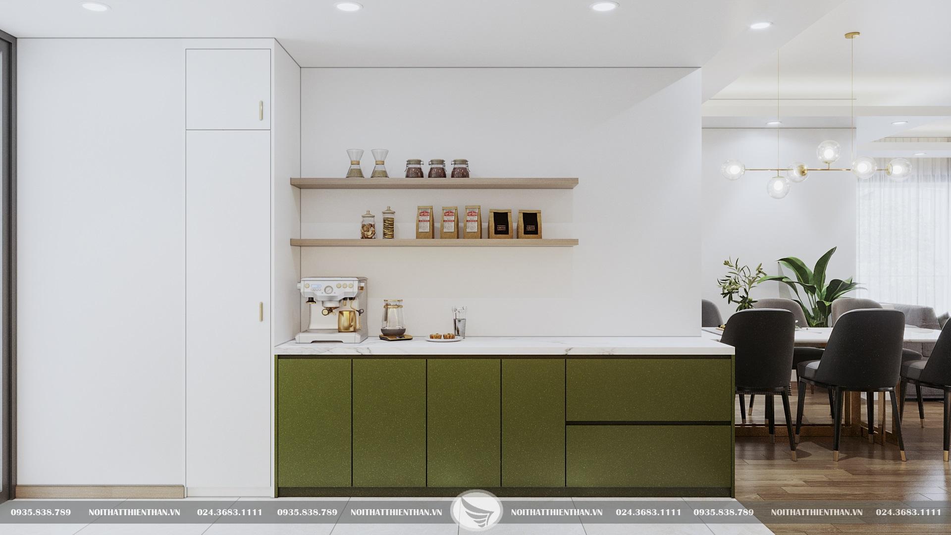 cách trang trí phòng bếp nhỏ đẹp