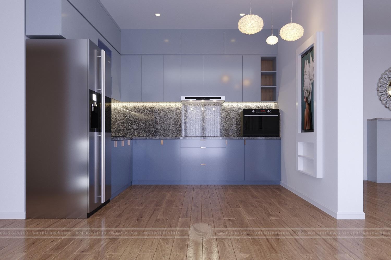thiết kế phòng bếp hiện đại