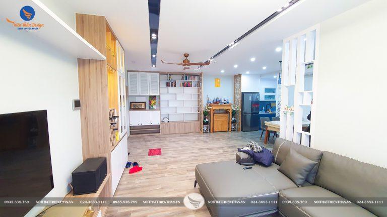 hình ảnh thực tế thiết kế nội thất căn hộ
