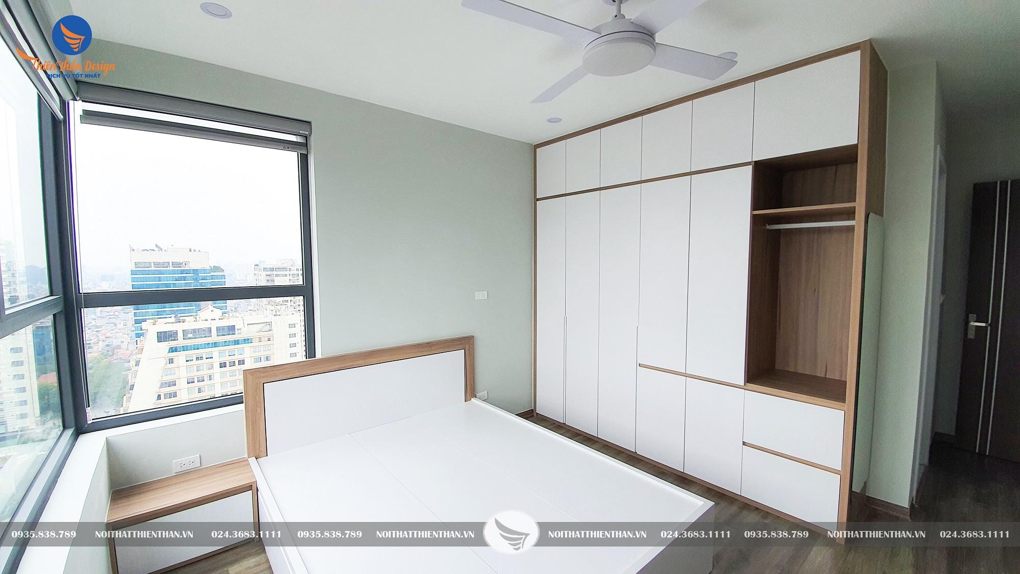 phòng ngủ đơn giản hiện đại