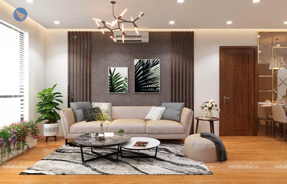 mẫu phòng khách đẹp căn hộ cao cấp