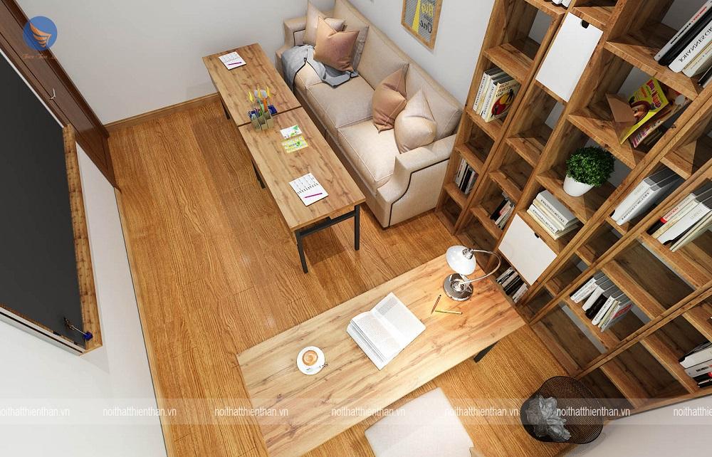 thiết kế phòng làm việctại nhà