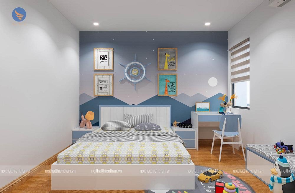 phòng ngủ cho con trai lớn