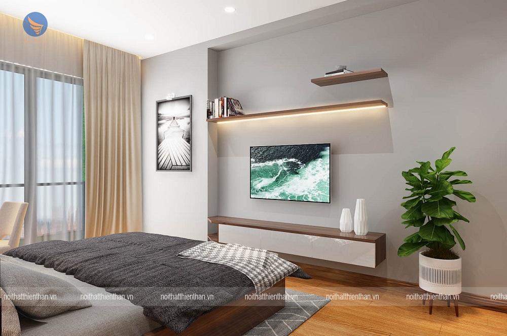 trang trí nội thất phòng ngủ ấn tượng