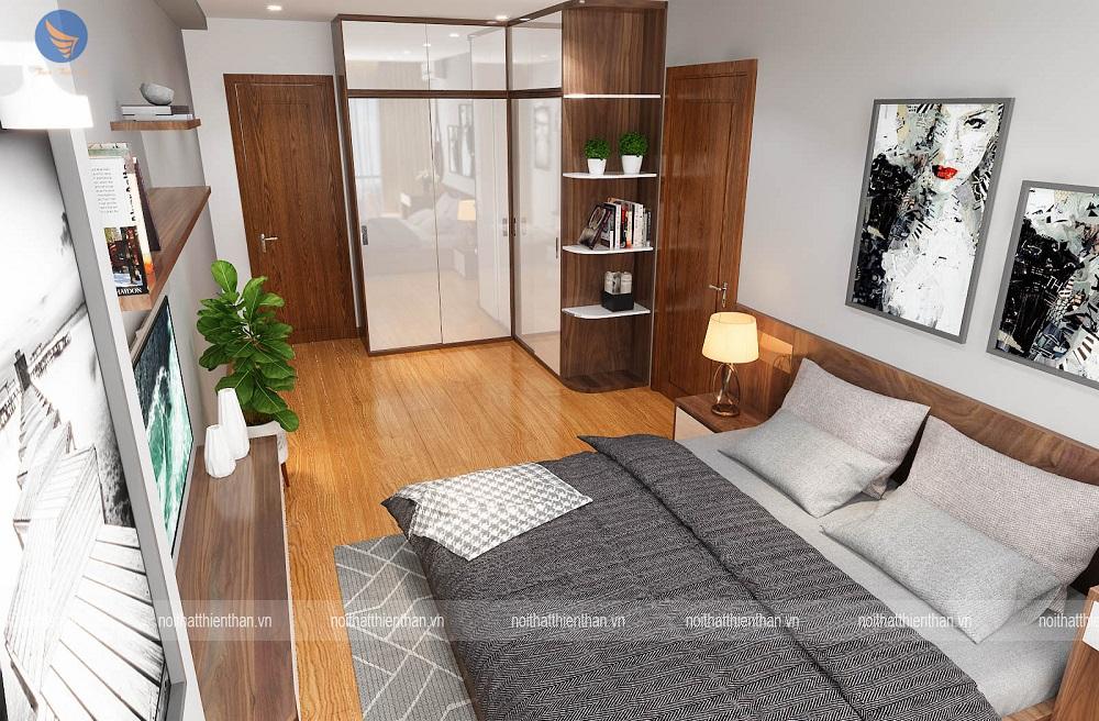 nội thất phòng ngủ đẹp chung cư cao cấp