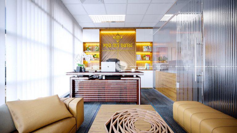 phòng làm việc giám đốc hiện đại