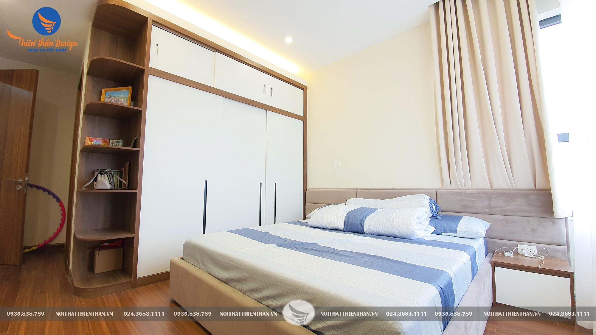 thiết kế thi công chung cư có phòng ngủ master
