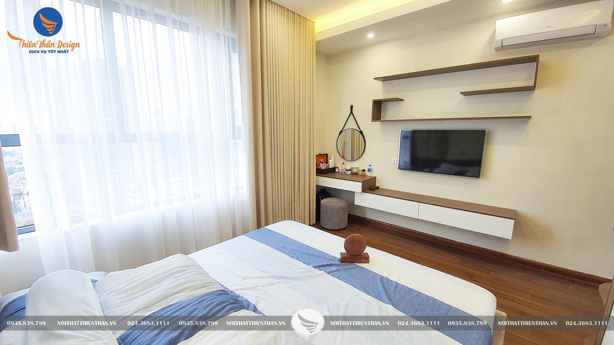 thi công nội thất chung cư hà nội mẫu phòng ngủ đẹp