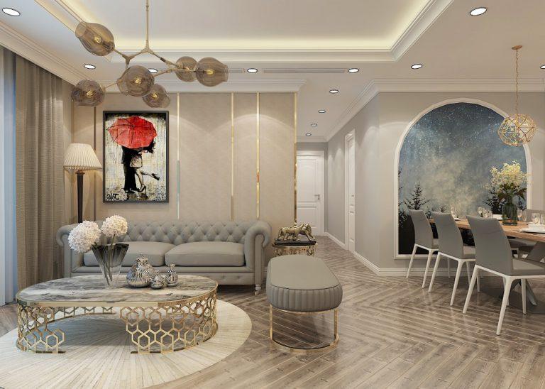 thiết kế nội thất chung cư mẫu phòng khách đẹp