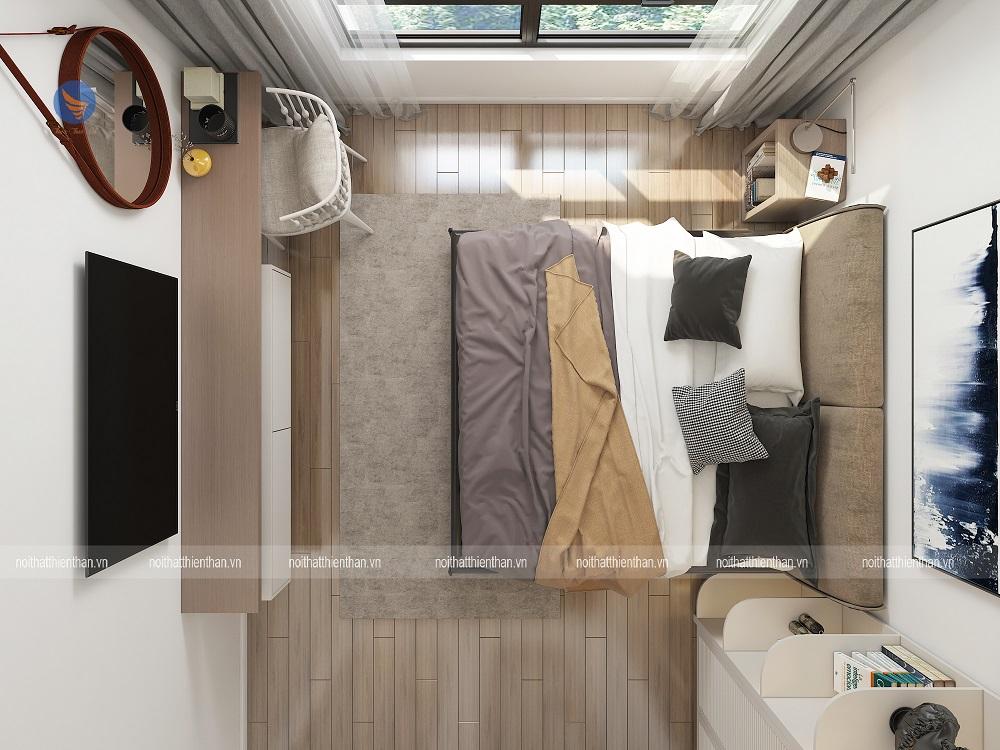 nội thất chung cư cao cấp phòng ngủ master