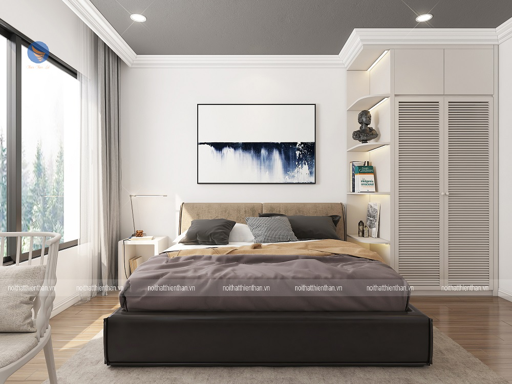 thiết kế nhà chung cư đẹp 70m2 có phòng ngủ sang trọng