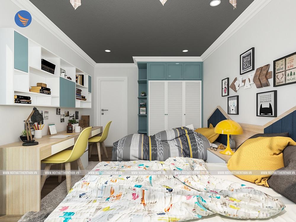 thiết kế phòng trẻ em căn hộ chung cư