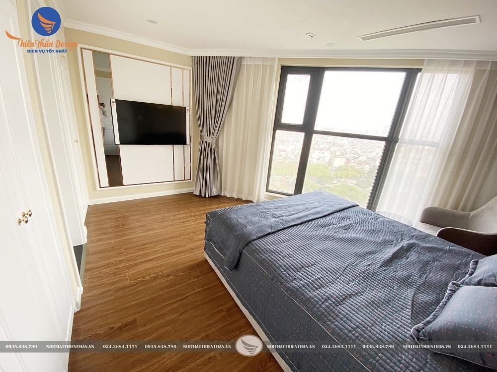 nội thất tân cổ điển phòng ngủ