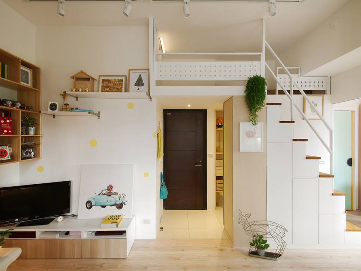 thiết kế phòng khách nhà ống 5m