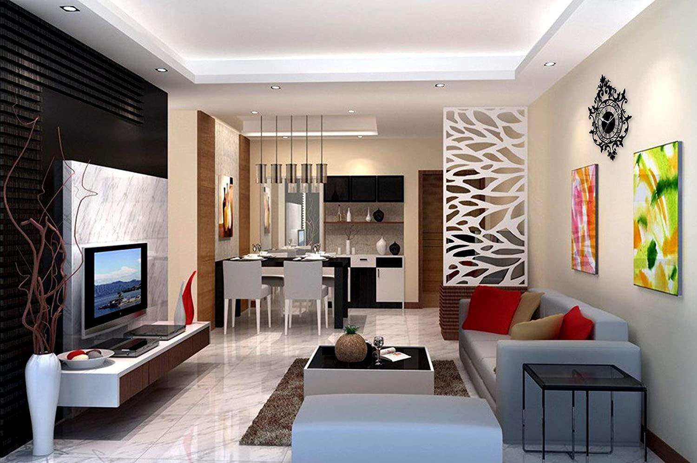 thiết kế nội thất phòng khách đẹp liền bếp