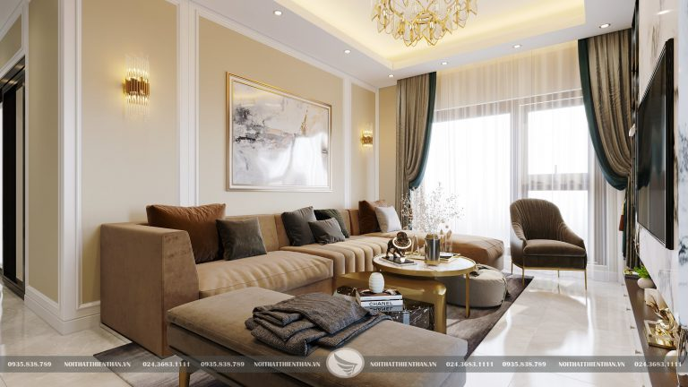 kiểu trang trí phòng khách đẹp