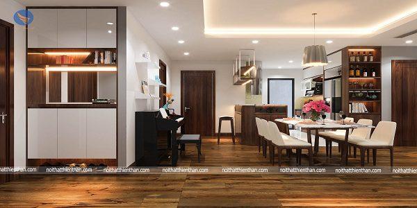 Khám phá thiêt kế nội thất căn hộ chung cư cao cấp Discovery