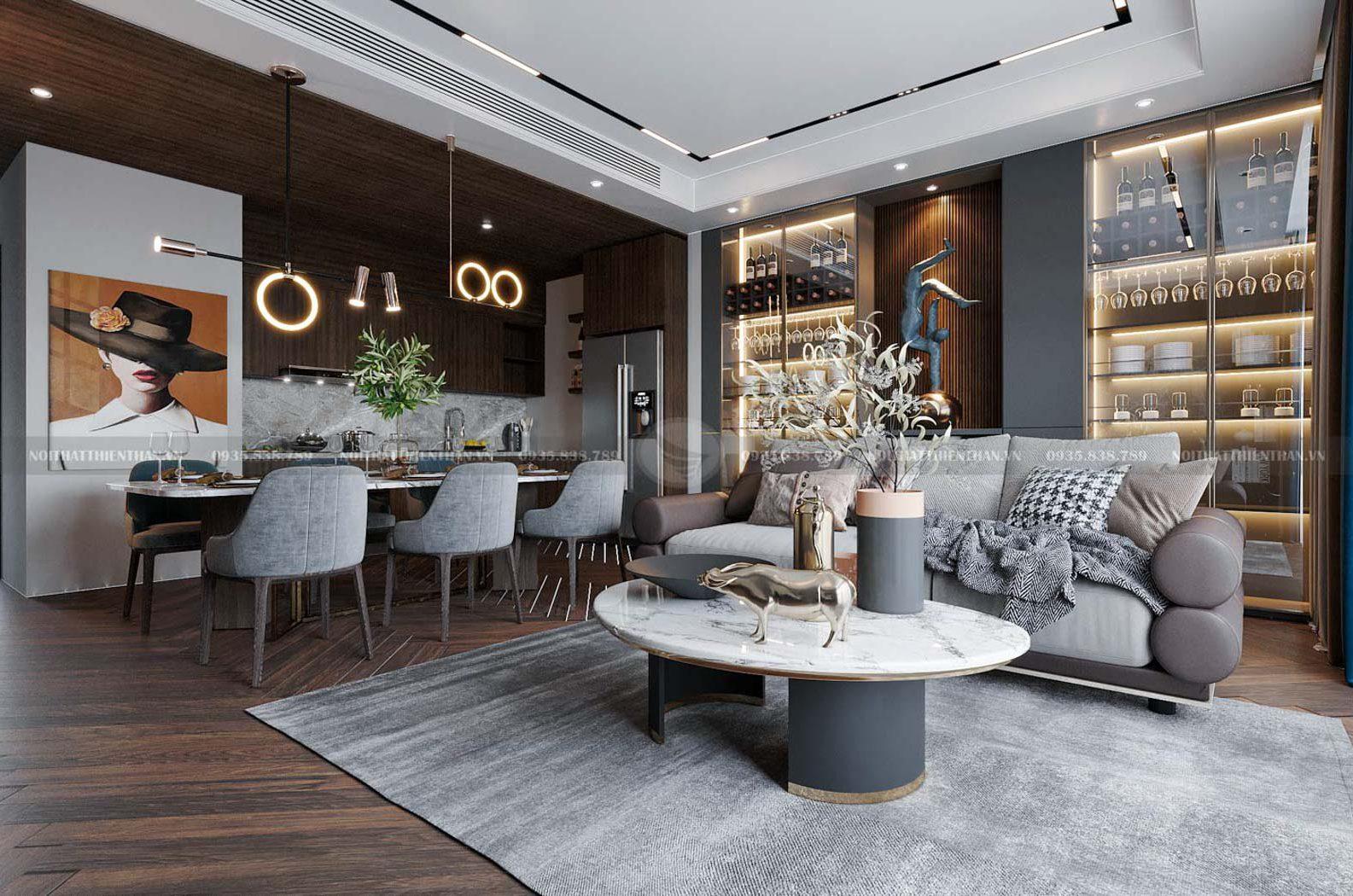 thiết kế nội thất căn hộ chung cư splendora an khánh đẹp nhất việt nam