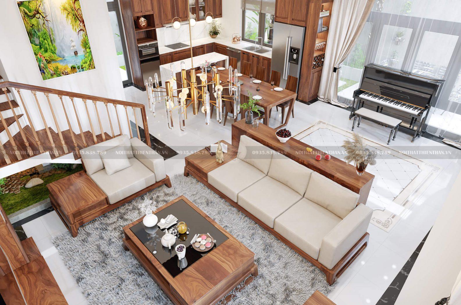 Thiết kế nội thất biệt thự Vinhomes Thanh Hóa